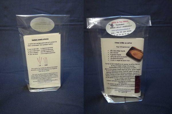 Pistils de safran (0,25 g)